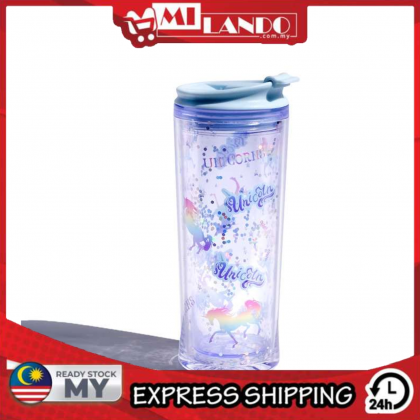 MILANDO Handy Water Cup Creatively Water Bottle Unicorn (Type 13)
