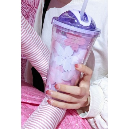 MILANDO Water Cup Summer Straw Casual Cup (Type 15 )