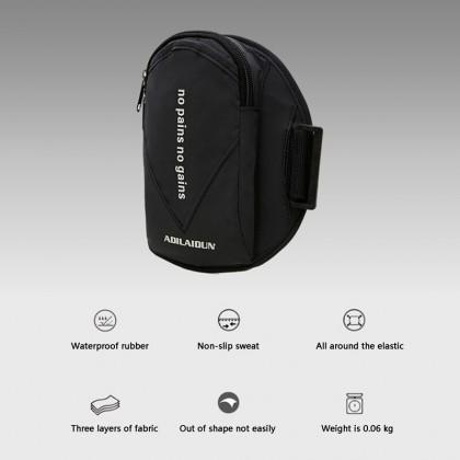 MILANDO Sport Running Waterproof Arm Band Phone Bag Night Reflective Sport Bag (Type 3)